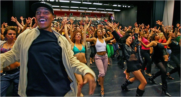 Frank Gatson Jr, Beyonce's choreographer and Creative Director