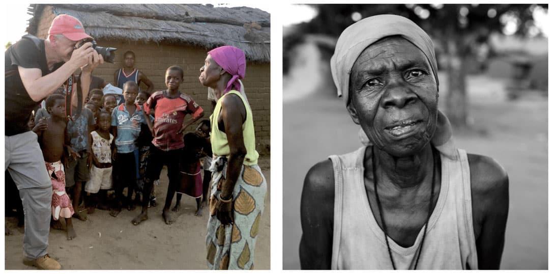 Photographer in Malawi